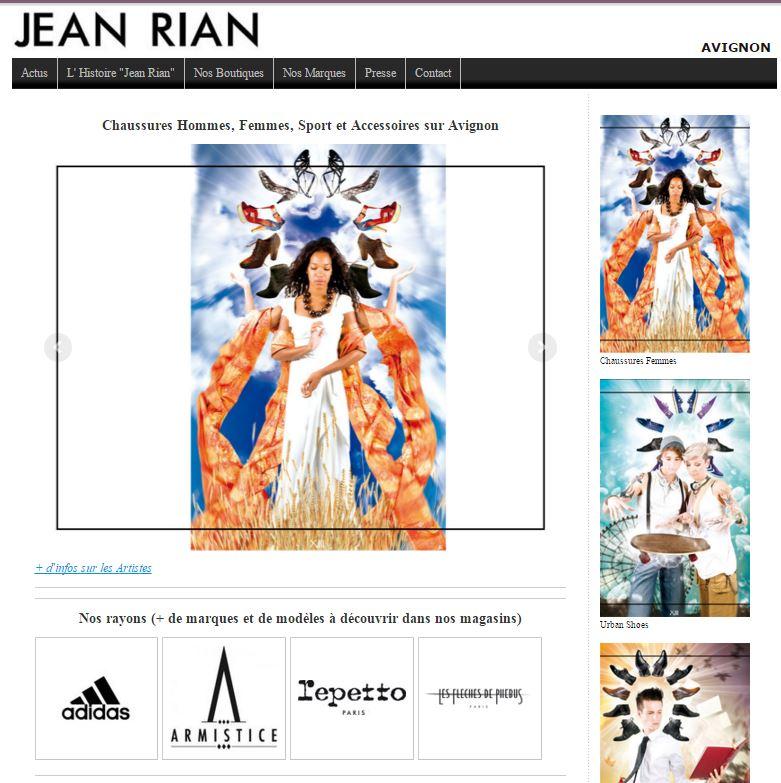 jeanrian chaussures site et stratégie