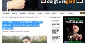 jeremy lafaurie objectif gard cv webmarketing gard